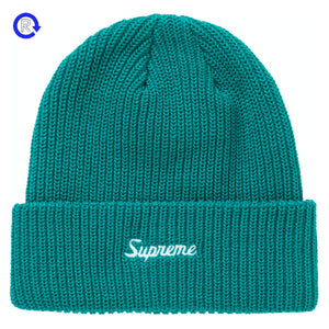 Supreme Teal Loose Gauge Beanie (FW20)