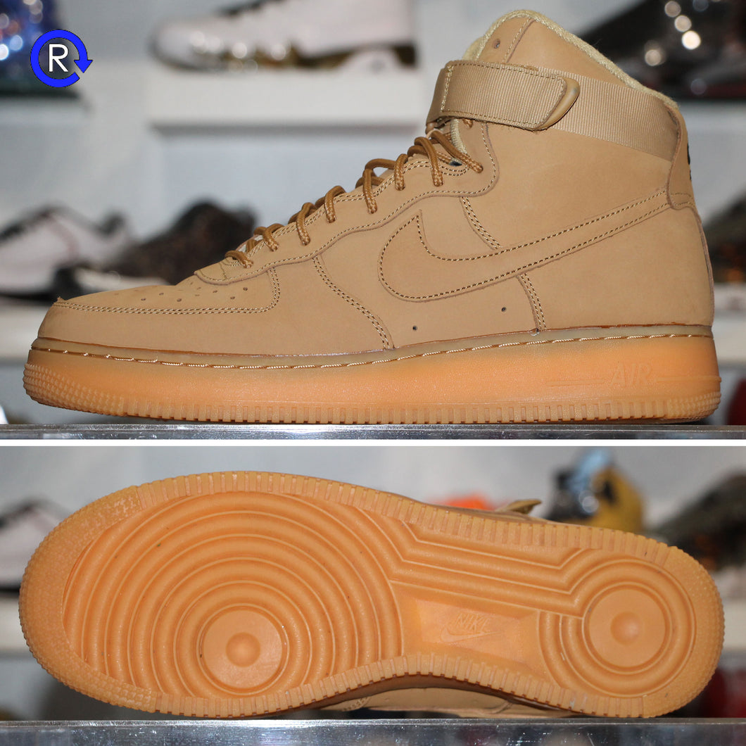 'Flax' Air Force 1 High (2017) | Size 11.5 Condition: 9.5/10.