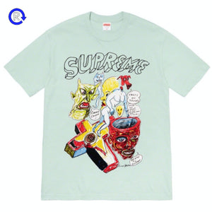 Supreme Light Teal Daniel Johnston Tee (SS20)