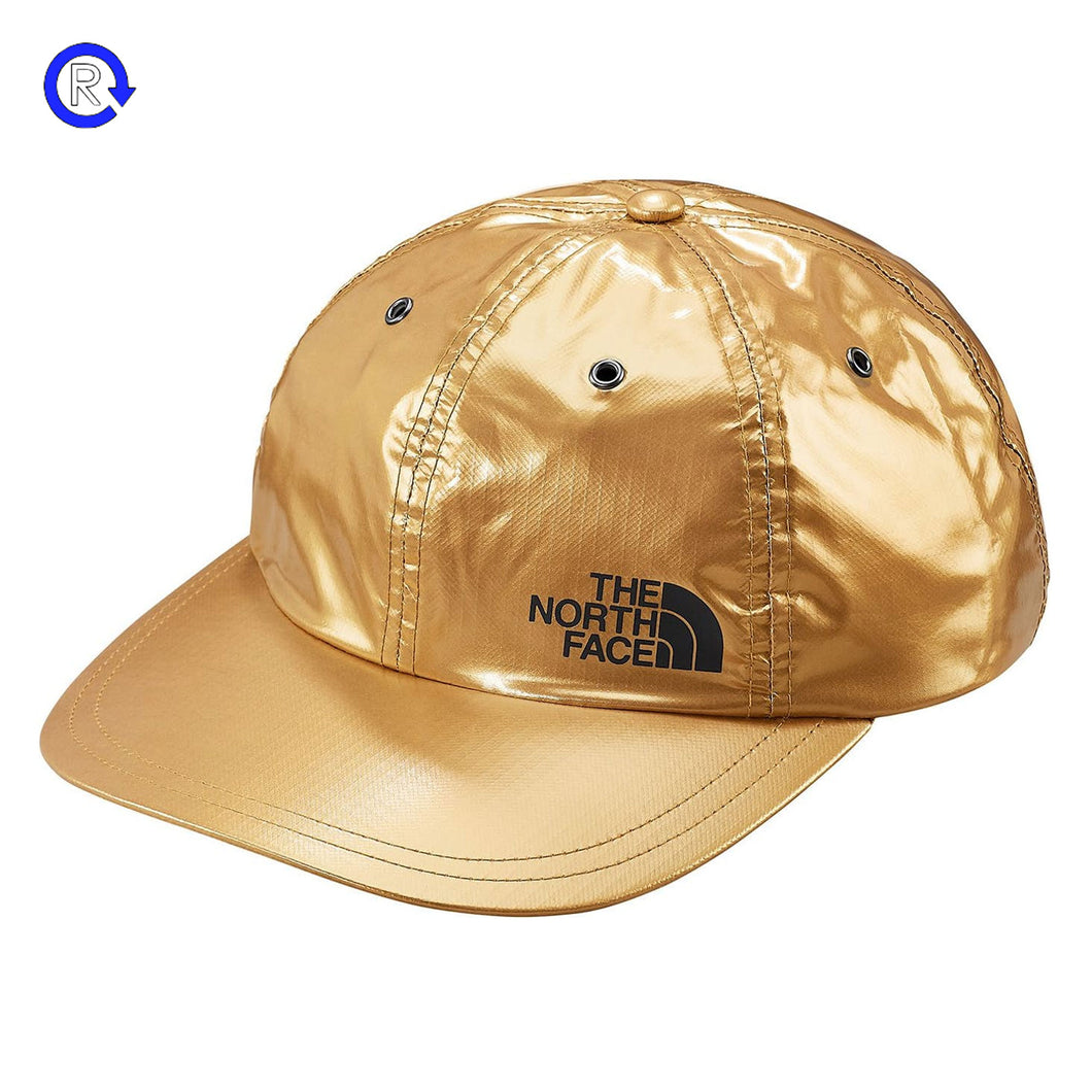 Supreme x North Face Gold Metallic 6-Panel (SS18)