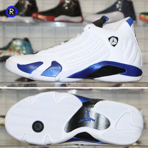 'White/Hyper Royal' Air Jordan 14 (2020) | Size 7.5 Brand new, deadstock.