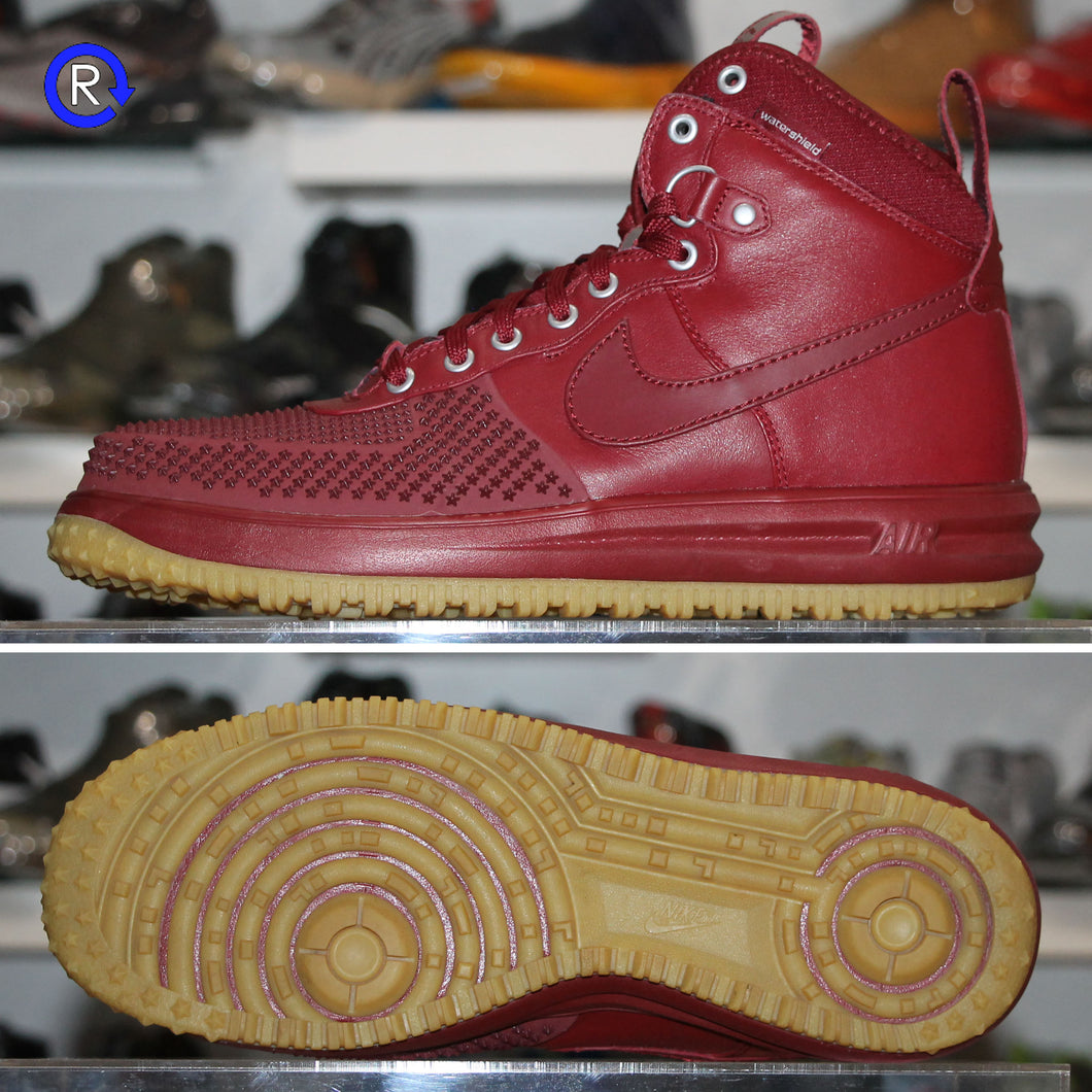 'Team Red/Gum' Nike Lunar Force 1 Duckboot (2018) | Size 11.5 Condition: 9.5/10.