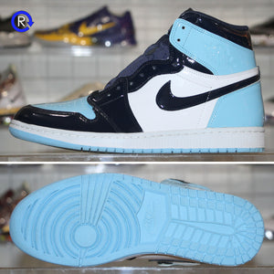 'UNC Patent' Air Jordan 1 High (2019) | Women's Size 12 (Men's 10.5) Condition: 9.5/10.