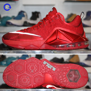 'University Red' LeBron 12 Low (2015) | Size 11.5 Condition: 9.5/10.