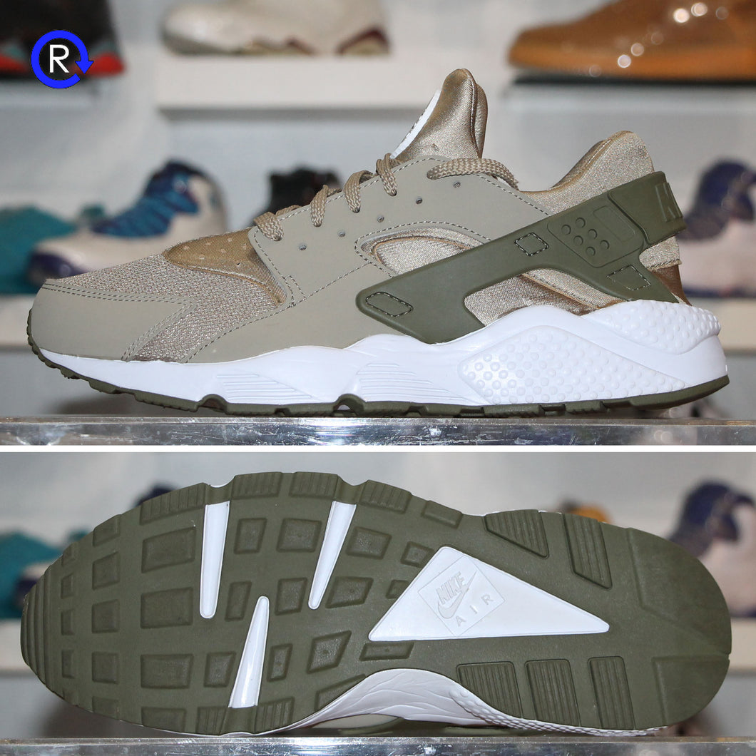 'Tan/Olive' Nike Air Huarache | Size 12 Condition: 9.5/10.