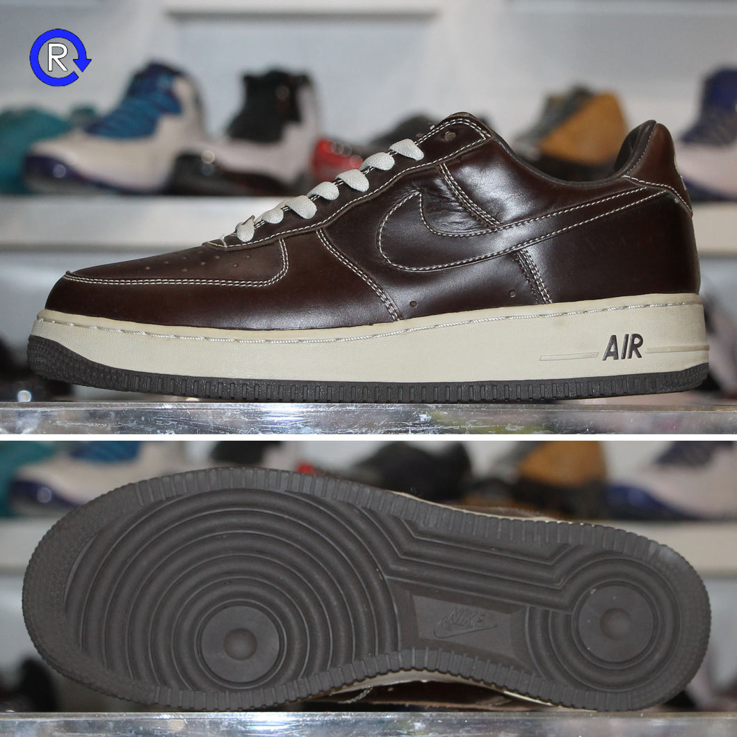 'Baroque Brown/Net' Nike Air Force 1 Low Premium (2004) | Size 9.5 Condition: 9.5/10.