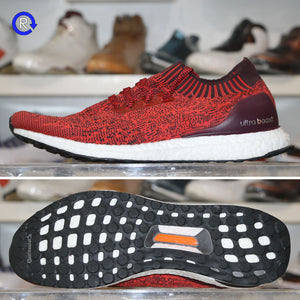 'Tactile Red/Dark Burgundy' Adidas Ultra Boost Uncaged (2017) | Size 11 Condition: 9.5/10.