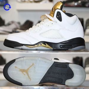 'Olympic Gold' Air Jordan 5 (2016) | Size 6 Condition: 9/10.