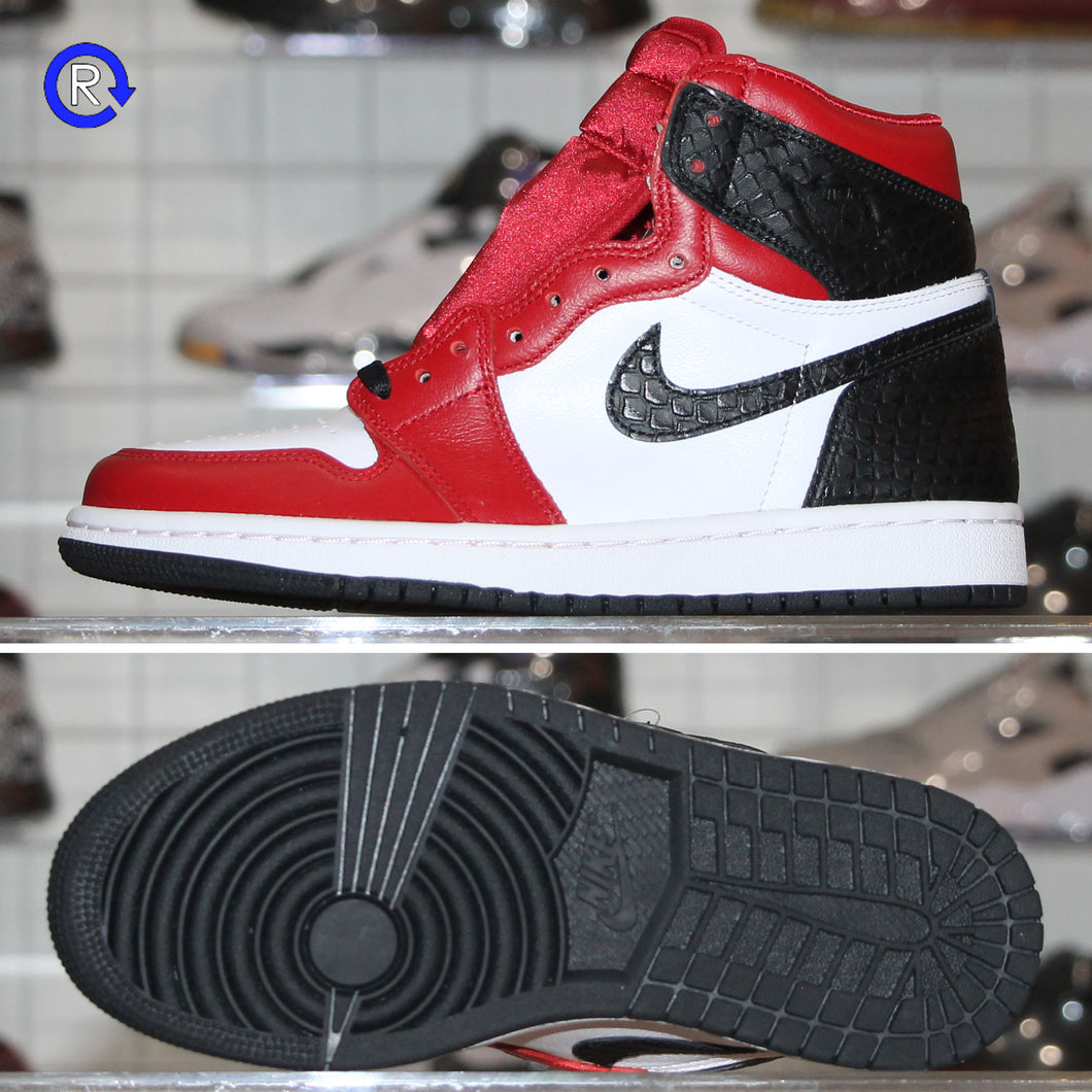'Satin Snake Chicago' Women's Air Jordan 1 High (2020) | Women's Size 7 Brand new, deadstock.