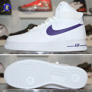 'White/Court Purple' Air Force 1 High '07 (2018) | Size 9 Brand new, deadstock.