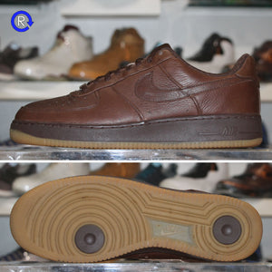 'Brown/Gum' Nike Air Force 1 Low | Size 11.5 Condition: 9.5/10.