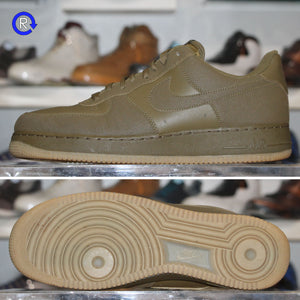 'Olive/Gum' Nike Air Force 1 Low | Size 11 Condition: 9.5/10.