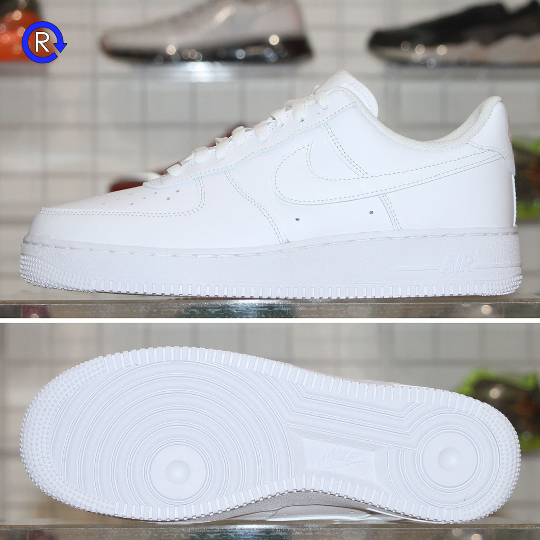 'White/White' Nike Air Force 1 Low '07 | Size 8.5 Brand new, deadstock.