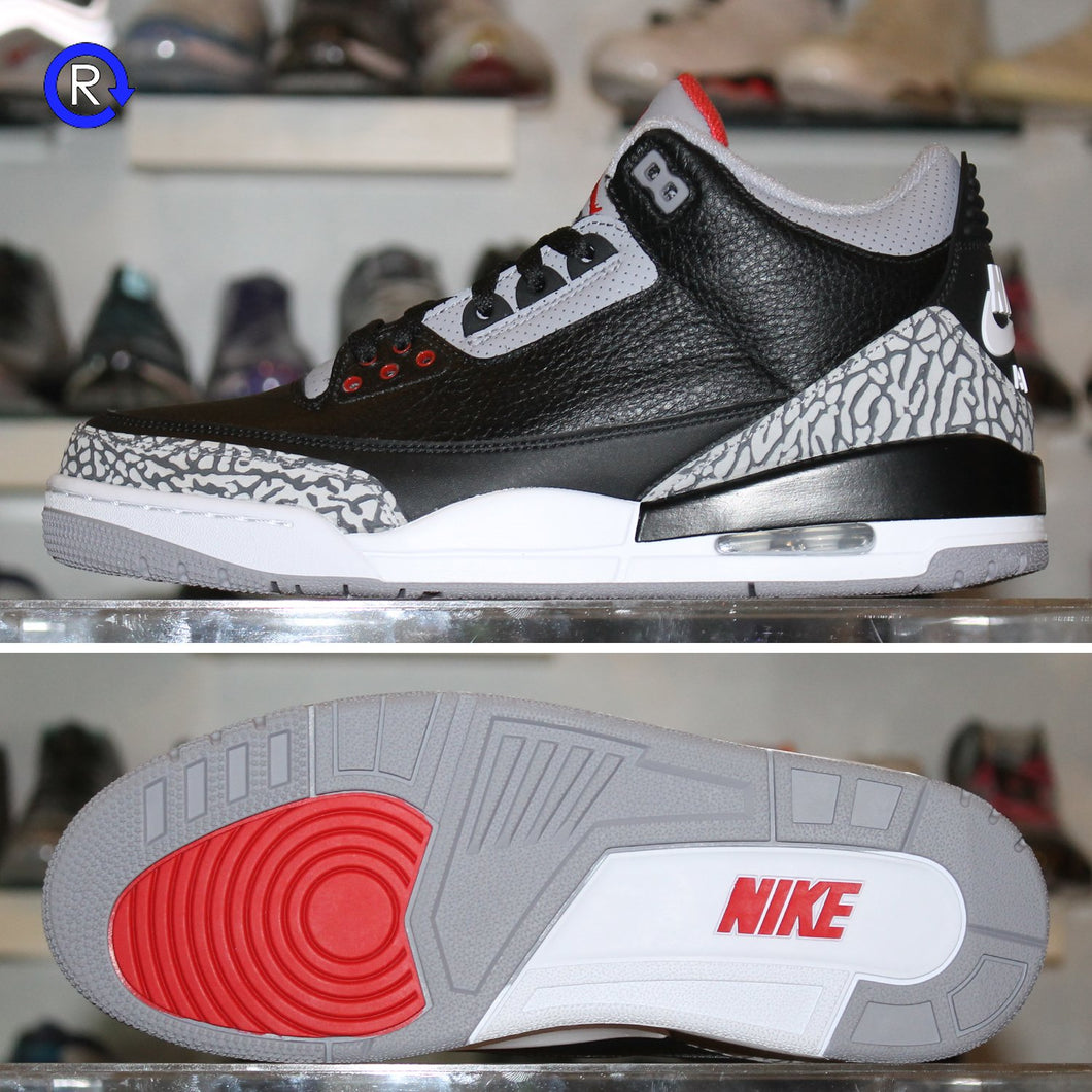 'Black Cement' Air Jordan 3 OG (2018) | Size 10 Brand new, deadstock.