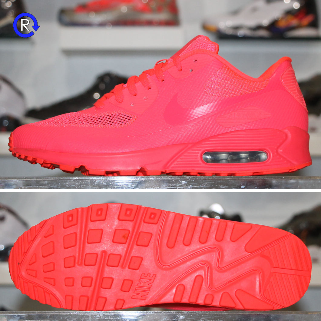 'Solar Red' NikeID Air Max 90 | Size 10.5 Condition: 9.5/10.