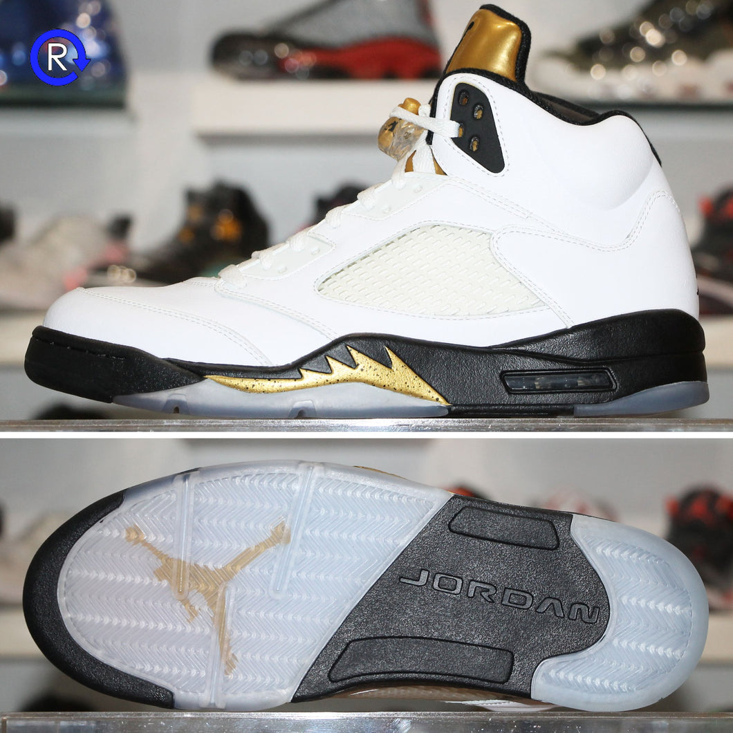 'Olympic Gold' Air Jordan 5 (2016) | Size 12 Condition: 10/10.