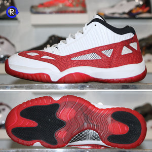 'White/Gym Red' Air Jordan 11 Low IE (2017) | Size 10.5 Condition: 8.5/10.