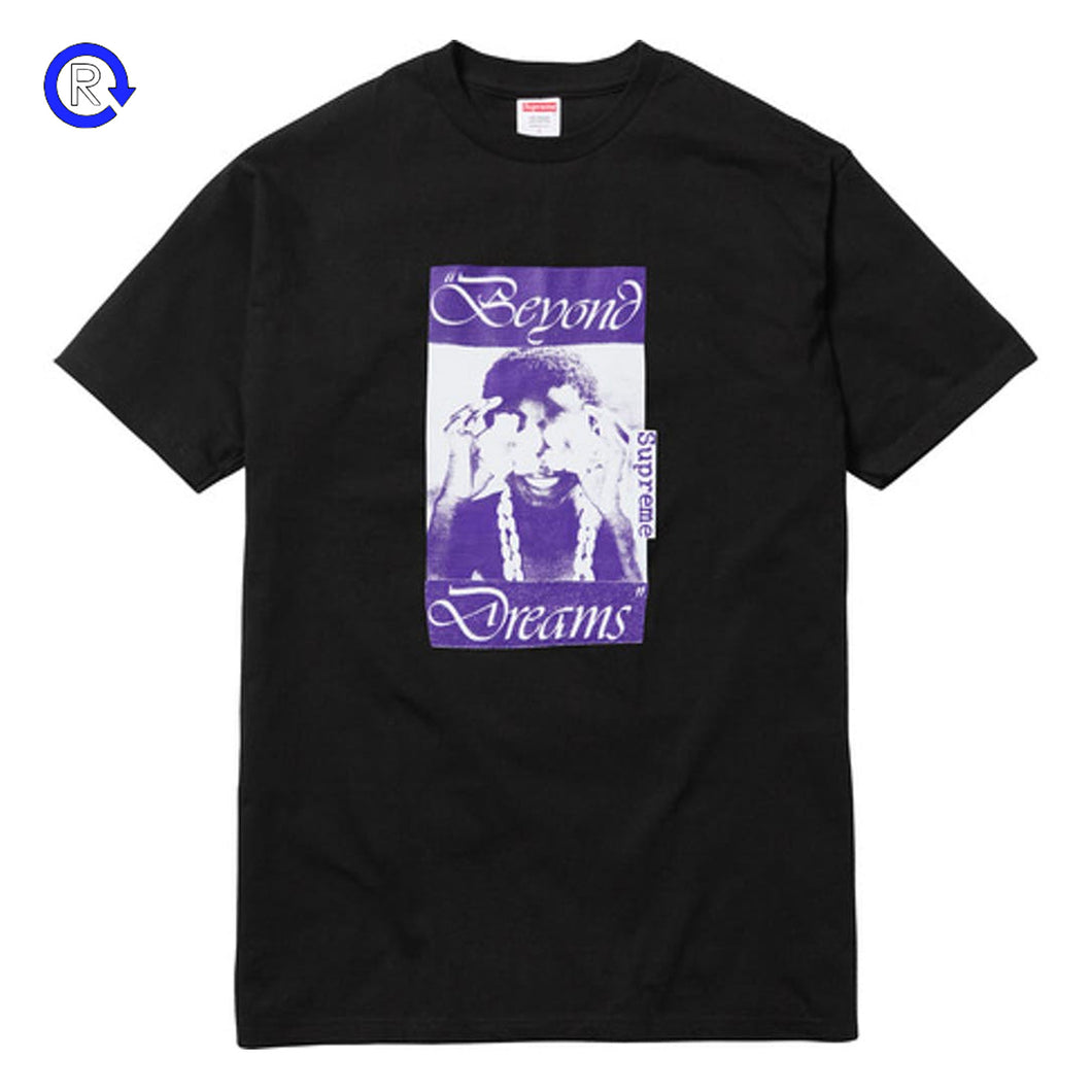 Supreme Black Beyond Dreams Tee (FW16)