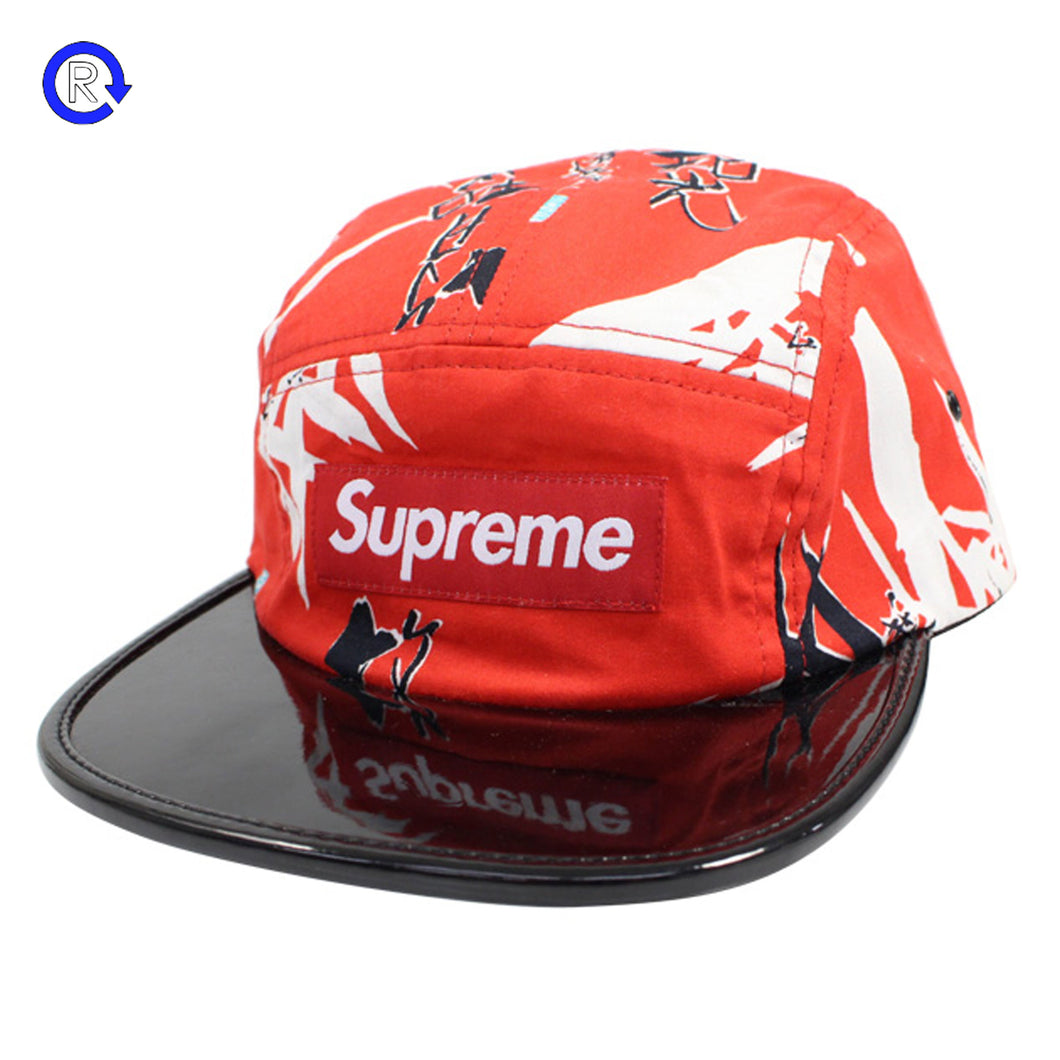 Supreme Red Bamboo Camp Cap (SS13)