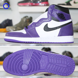 'White/Court Purple' Air Jordan 1 High OG (2020) | Size 10 Brand new, deadstock.