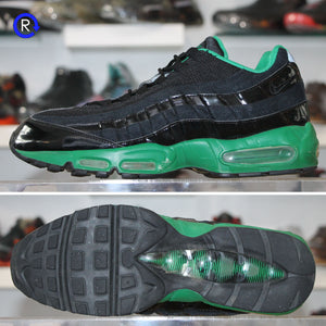 'Black/Pine Green' Nike Air Max 95 (2010) | Size 12 Condition: 8.5/10.