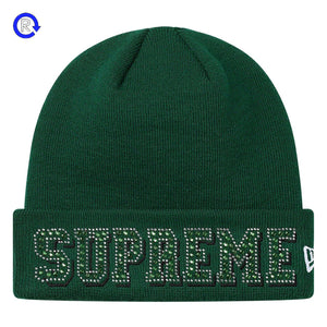 Supreme Green New Era Gems Beanie (SS20)