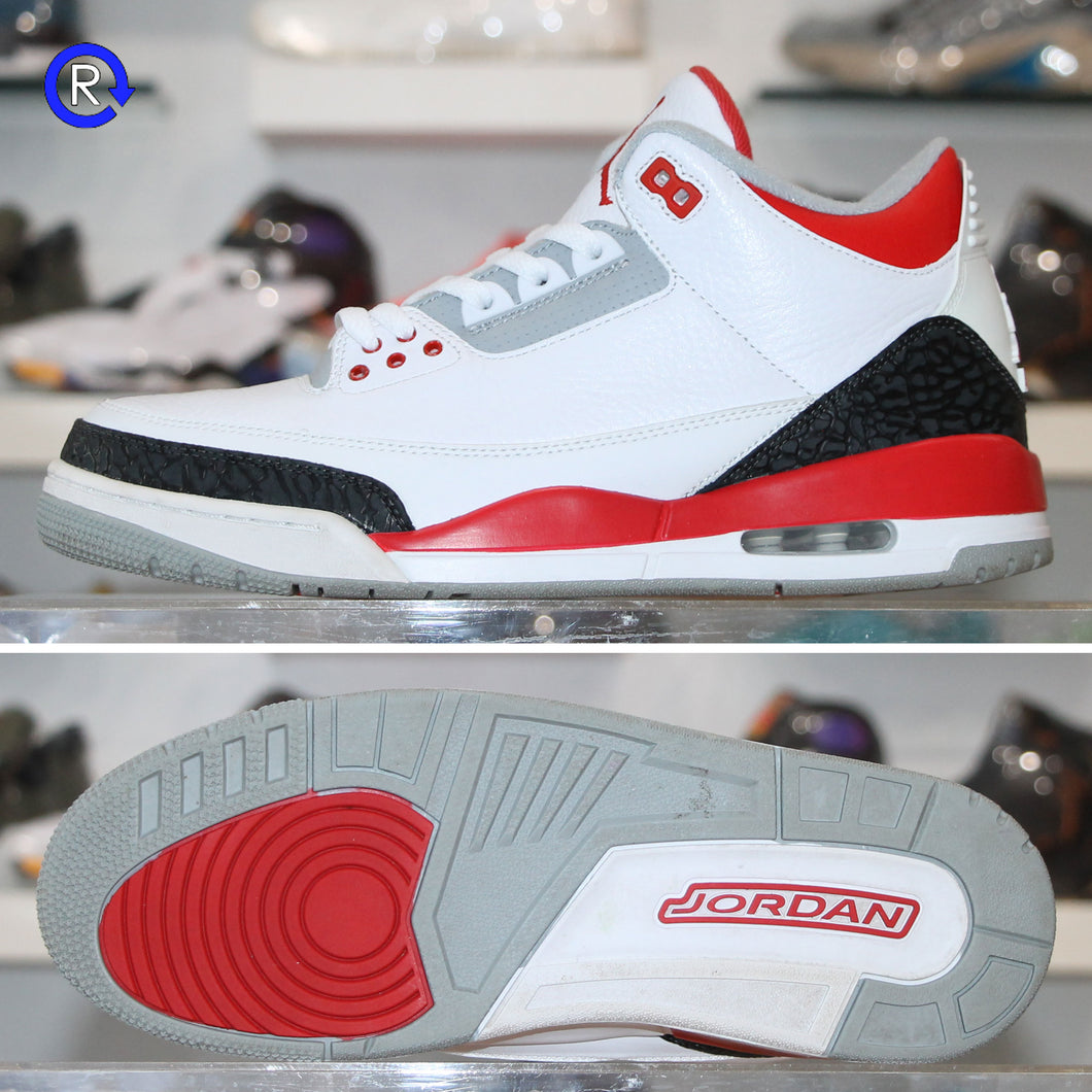 'Fire Red' Air Jordan 3 (2013) | Size 10.5 Condition: 9.5/10.