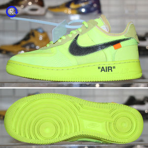 """Off-White"" Volt Nike Air Force 1 Low (2018) 