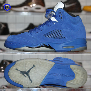 'Blue Suede' Air Jordan 5 (2017) | Size 6.5 Condition: 9/10.