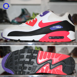 'White/Red/Purple' Nike Air Max 90 | Size 11.5 Condition: 8.5/10.
