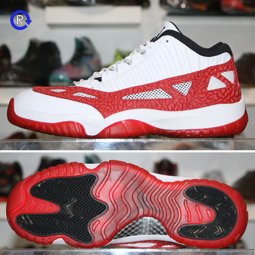 'White/Gym Red' Air Jordan 11 Low IE (2017) | Size 12.5 Condition: 9.5/10.