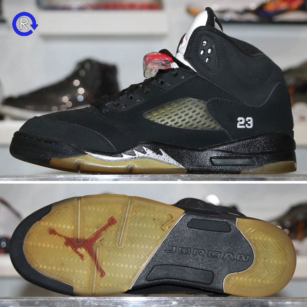 'Black/Metallic' Air Jordan 5 (2007) | Size 7 Condition: 8.5/10.