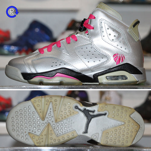 'Valentine's Day' Air Jordan 6 (2014) | Size 4 Condition: 8/10.