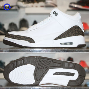 'Mocha' Air Jordan 3 (2018) | Size 9.5 Condition: 9.5/10.