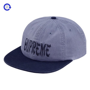 Supreme Pale Blue Shaolin 6-Panel (FW18)