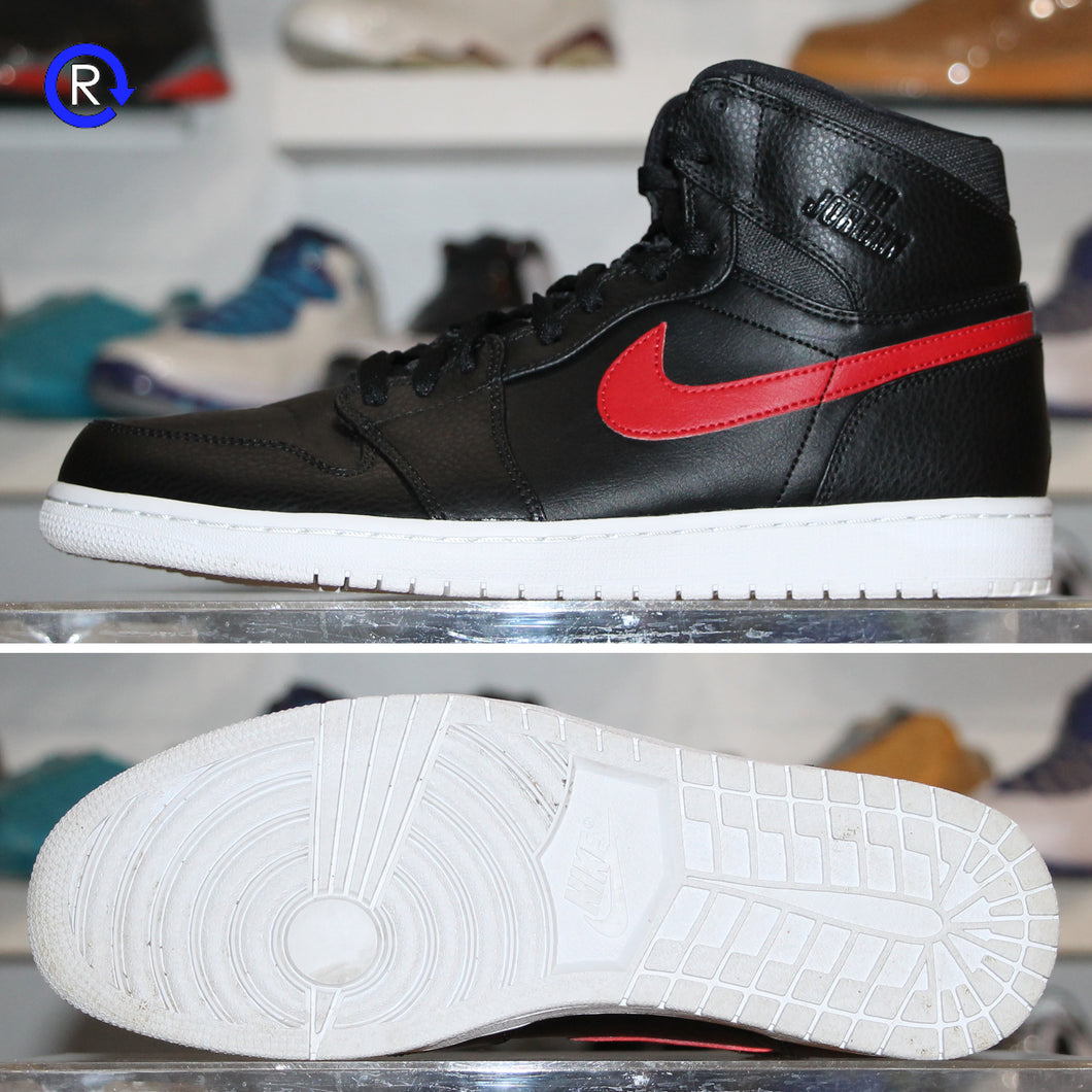 'Black/Red' Air Jordan 1 High | Size 11.5 Condition: 9.5/10.