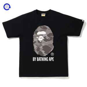 Bape Black/Grey Color Camo By Bathing Ape Tee