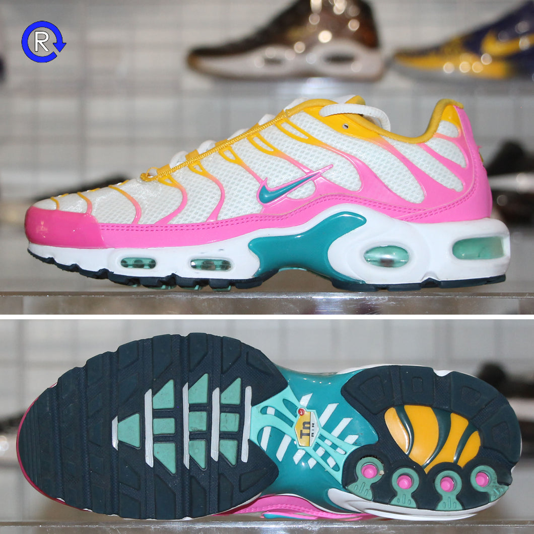'White/Pink' Nike Air Max Plus | Women's Size 8.5 Condition: 9/10.
