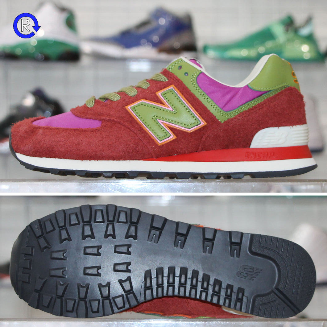 'Red' Stray Rats x New Balance 574 (2021) | Size 8.5 Brand new, deadstock.