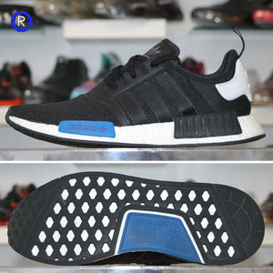 'Black/Blue' Adidas NMD Runner (2016) | Size 11.5 Condition: 9/10.