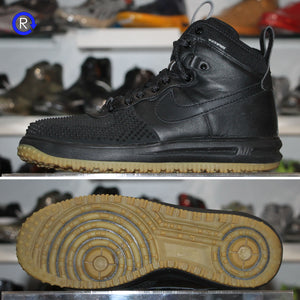 'Black/Gum' Nike Lunar Force 1 Duckboot (2016) | Size 11.5 Condition: 9/10.