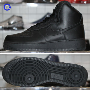 'Black/Black' Air Force 1 High | Size 9 Condition: 9.5/10.