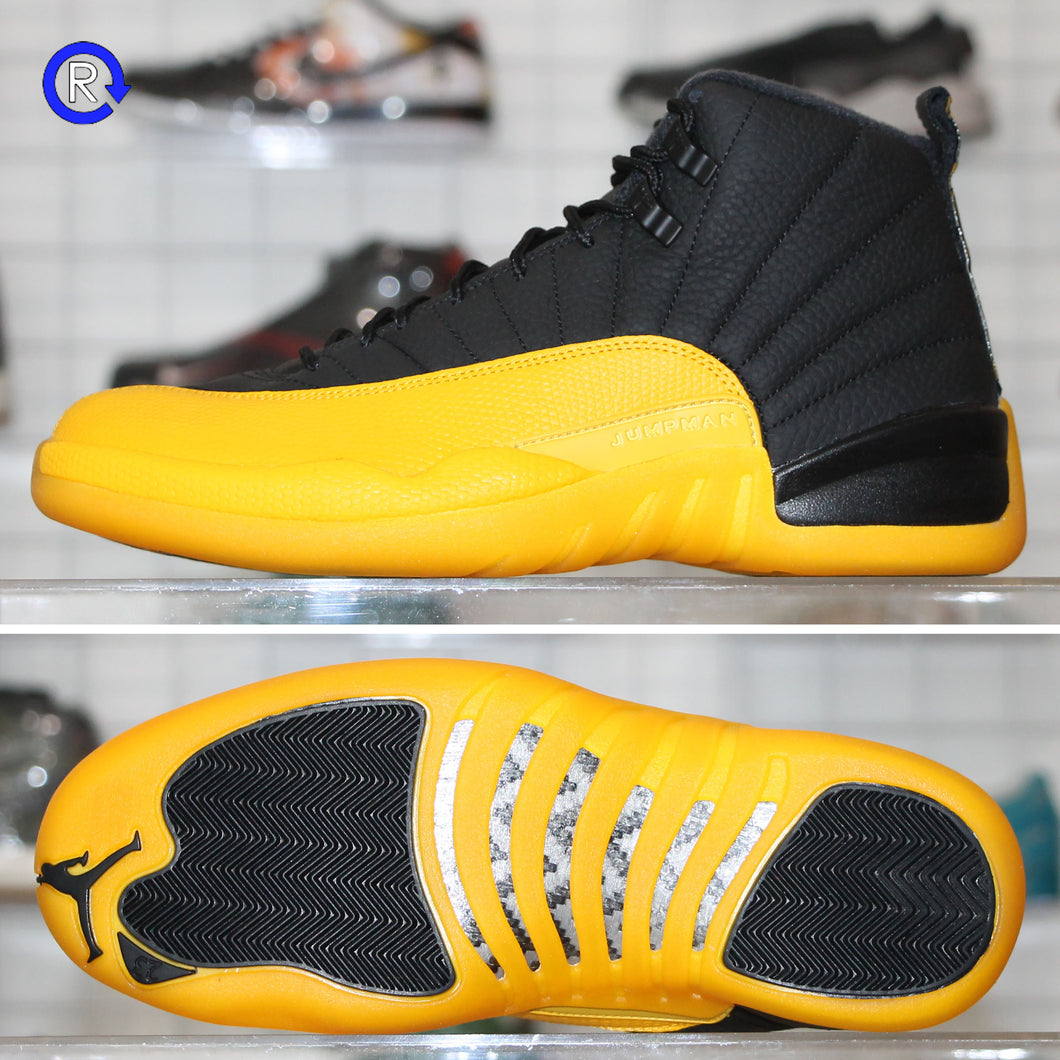 'Black/University Gold' Air Jordan 12 (2020) | Size 14 Brand new, deadstock.