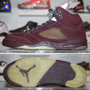 'Burgundy' Air Jordan 5 (2006) | Size 13 Condition: 9/10.