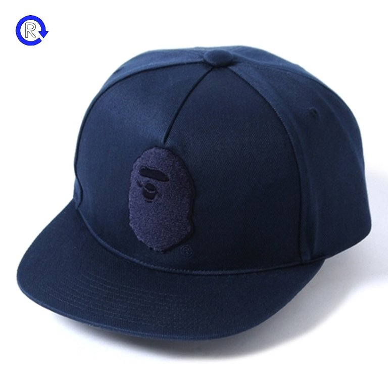 A Bathing Ape 'Ape Head' Snapback Cap