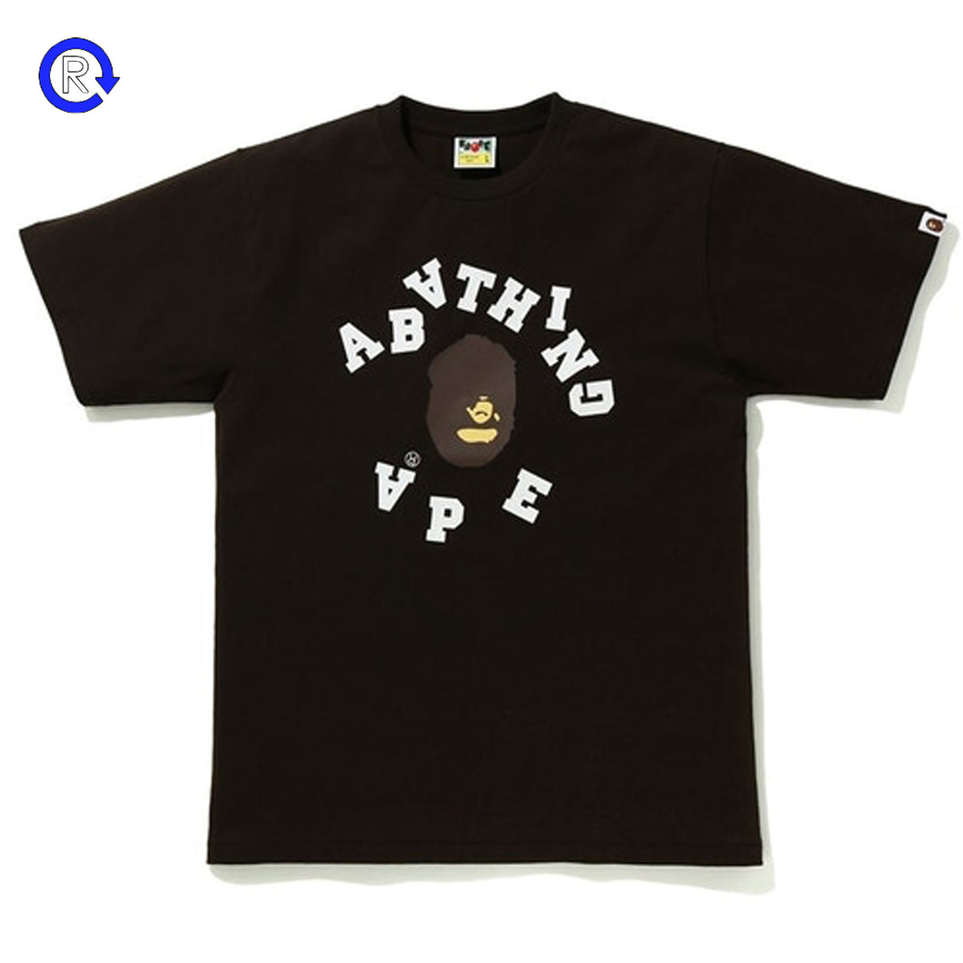 Bape Brown Broken College Tee