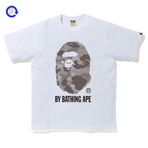 Bape White/Grey Camo By Bathing Ape Tee
