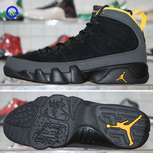 'Dark Charcoal/University Gold' Air Jordan 9 (2021) | Size 8.5 Brand new, deadstock.