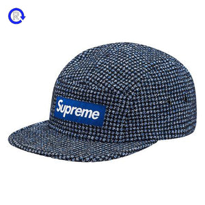 Supreme Boucle Houndstooth Camp Cap (FW17)