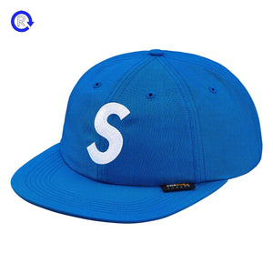 Supreme Light Blue Cordura S Logo 6-Panel (FW18)